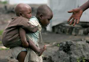 2008. Refugee camp near Goma [© Afp/Grazia Neri]