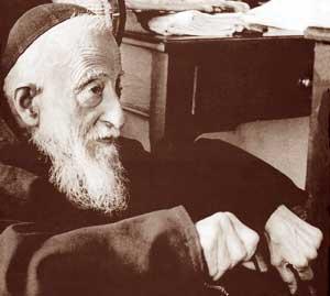 Una delle ultime foto di padre Leopoldo Mandic