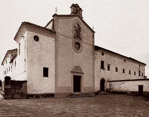 The Capuchin church and monastery in Padua before their destruction in the bombing raid of 14 May 1944