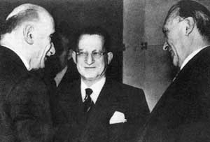 Robert Schuman, Alcide De Gasperi 