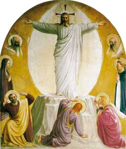 <I>The Transfiguration</I>, Beato Angelico, Museum of San Marco, 
