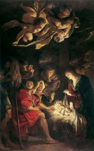 <I>The Holy Night</I>, Peter Paul Rubens (1577-1640), Pinacoteca Civica, Fermo [© Foto Scala, Firenze]