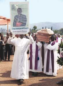 The funeral of Monsignor Emmanuel Kataliko