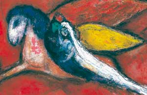 IDavid and Bathsheba/I, Marc Chagall