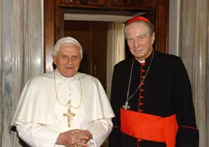 Benedict XVI and Carlo Maria Martini