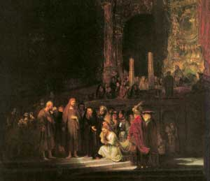 <I>The Adulteress</I>, oil on canvas, 