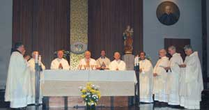 The Mass for the inauguration of the academic year 2008-2009 [© Pontifical Spanish College]