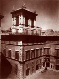 Palazzo Altemps, the first site of the College [© Pontifical Spanish College]
