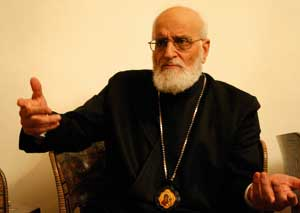 Grégoire III, Patriarch of Antioch of the Greek Melkites <BR>[© Massimo Quattrucci]