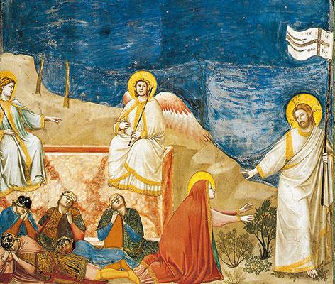 Jésus ressuscité et Marie-Madeleine, Giotto, Chapelle des Scrovegni, Padoue