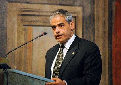 Miguel H. Díaz, ambasciatore degli Stati Uniti presso la Santa Sede [© Paolo Galosi]