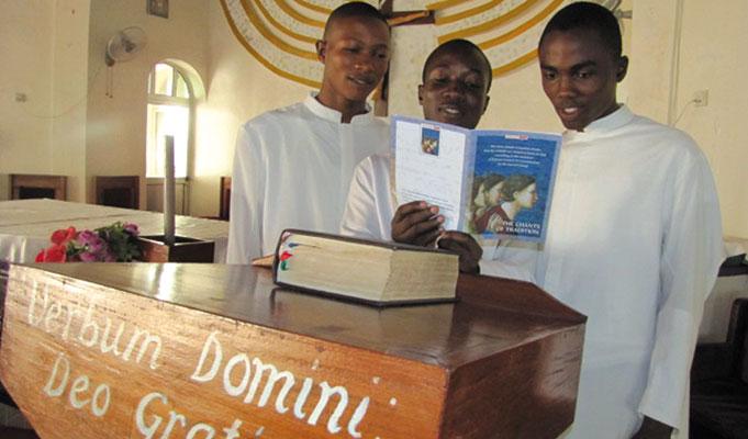 I seminaristi della diocesi di Makeni, Sierra Leone
