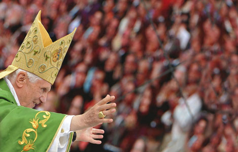 Benedict XVI in Germany [© Afp/Getty Images]