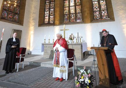 Benedetto XVI in Germania [© Osservatore Romano]