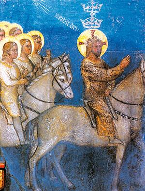 Cristo sul cavallo bianco seguito dagli eserciti celesti, Battistero di Padova [© Giorgio Deganello Editore]