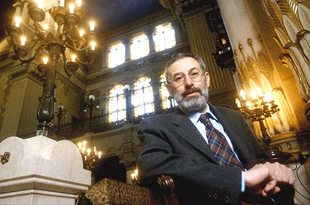 Il rabbino Riccardo Di Segni [© Agenzia Contrasto]