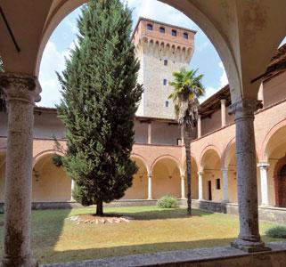 The convent of Lecceto, Siena