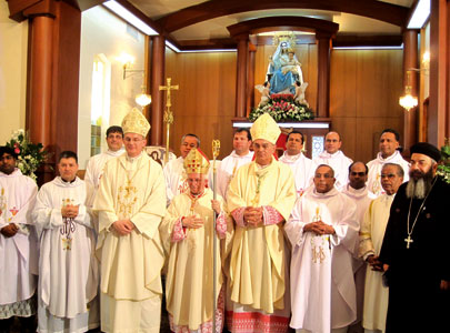 Antonio Cañizares Llovera in the Apostolic Vicariate of Kuwait <BR>[© Congregation of Divine Worship]