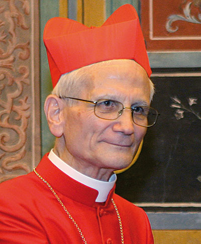 El cardenal  Raffaele Farina [ Romano Siciliani]