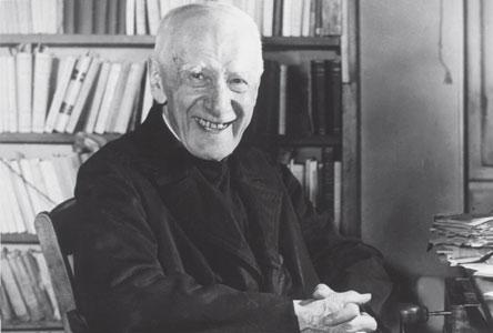 Father Jules Lebreton. Born in Tours in 1873, died in Paris in 1956 [© Romano Siciliani]