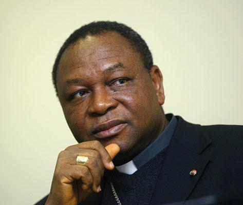 John O. Onaiyekan, arcivescovo di Abuja <BR>[© Romano Siciliani]