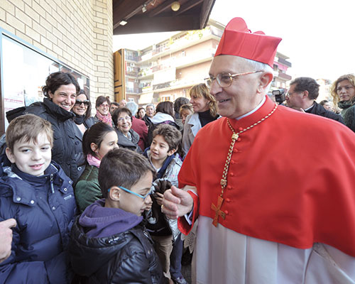 Cardinal Filoni on the occasion of taking possession of the cardinal deaconship of Our Lady of Coromoto in St John of God, Rome, 23 February 2012