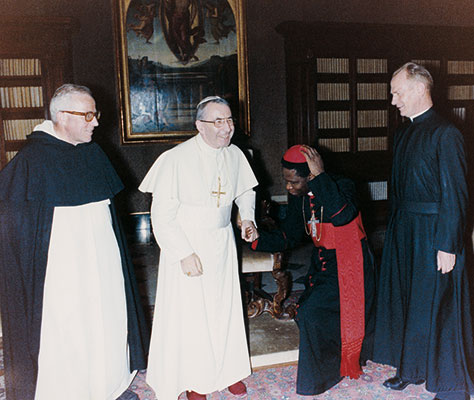 Gantin with John Paul I, 28 September 1978 [© Foto Felici]
