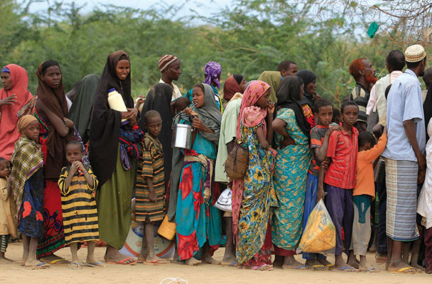 Profughi somali [© Associated Press/LaPresse]
