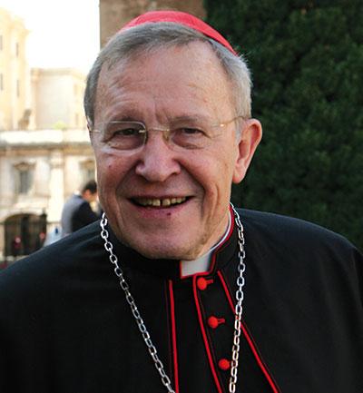 Cardinale Walter Kasper [© Romano Siciliani]