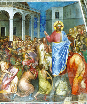 The miracles of Jesus, Giusto de' Menabuoi in the Baptistery of Padua
