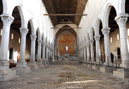 La Basilica patriarcale di Santa Maria Assunta ad Aquileia [© Romano Siciliani]