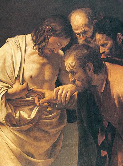 <I>L'incredulità di san Tommaso</I>, Caravaggio