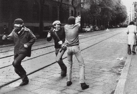 Milano, 14 maggio 1977, autonomi in via De Amicis