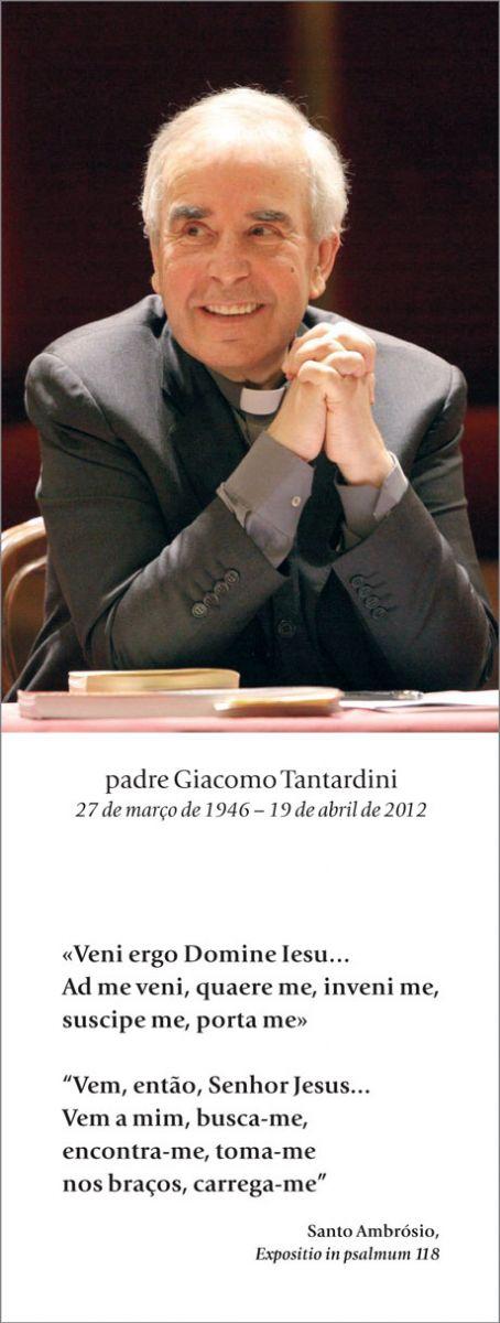 Padre Giacomo, em Pádua, em 25 de novembro de 2008, durante a apresentação do livro <I>Montini e Agostino. Sant'Agostino negli appunti inediti di Paolo VI</I>, publicado por <I>30Giorni</I> [© Franco Capovilla]